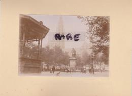 LOT DE 2 PHOTOS ANCIENNES,1880,BELGIQUE,ANVERS,ANTWERPEN,RARE,SUR LE MEME CARTON,RECTO VERSO - Places