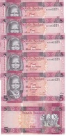 South Sudan - 5 Pcs X 5 Pounds 2015 UNC Lemberg-Zp - Sudan