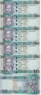 South Sudan - 5 Pcs X 10 Pounds 2016 UNC Lemberg-Zp - Sudan