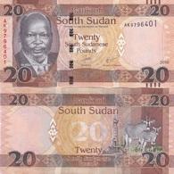 South Sudan - 20 Pounds 2016 AUNC Lemberg-Zp - Sudan