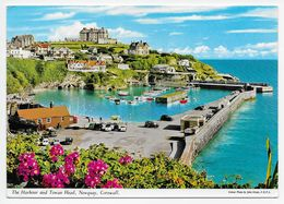 Newquay - The Harbour And Towan Head - John Hinde - Newquay