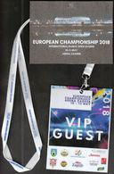 Croatia Zagreb 2018 / European Championship / International Dance Open Zagreb / Accreditation VIP GUEST - Sports