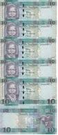 Sudan South - 5 Pcs X 10 Pounds 2016 UNC Ukr-OP - Sudan