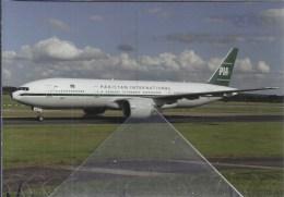 PIA Pakistan Inter Airlines International B777 AP-2Q8ER AP-BMG - 1946-....: Era Moderna