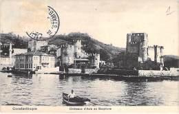 TÜRKIYE Turquie Turkey - CONSTANTINOPLE : Chateaux D'Asie Au Bosphore - CPA - Türkei Turkije Turchia Turquía - Turquie