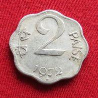 India 2 Paise 1972 H KM# 13.6  Inde Indie - India