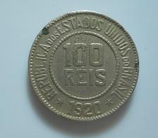 Brazil 100 Reis 1920 - Brasil