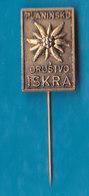 Alpine Association  PD Iskra Alpinism, Mountaineering Edelweiss Slovenia Pin - Alpinism, Mountaineering