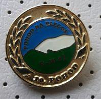 BLEGOS 10. Hiking Alpinism Mountaineering  Slovenia Pin - Alpinism, Mountaineering