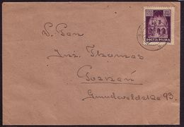 Poland 1946. Mi 396, Letter From Szamotuly To Poznan W382 - Storia Postale