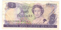 New Zealand 2 Dollars, VF. See Scan - Nuova Zelanda