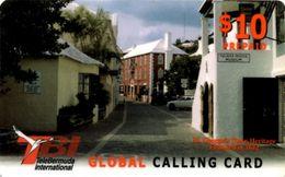 Bermuda - BM-PRE-TBI-0007B, Remote Memory, St. George Town Heritage (Red Value), 10 $, Used - Bermude