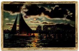 United States Vintage Postcard Corpus Christi Bay - Corpus Christi, Texas - Corpus Christi