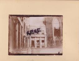 LOT DE 2 PHOTOS ANCIENNES,1880,ZWOLLE,OVERIJSSEL,HANSE,PAYS BAS,RARE,SUR LE MEME CARTON,RECTO VERSO - Lieux
