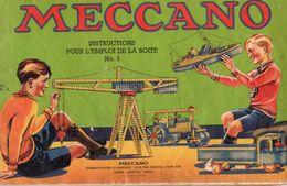 CATALOGUE MECCANO  Boite No 3 - Meccano