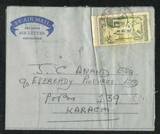 Jamhuri Zanzibar Tanzania Air Mail Postal Used Aerogramme Cover Zanzibar To Pakistan As Per Scan - Zanzibar (1963-1968)