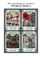 Maldives 2018 World War I  S201806 - Maldives (1965-...)