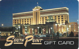 South Point Casino Las Vegas, NV Gift Card (No Cash Value) - Casino Cards