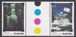 Australia ASC 731b 1979 National Parks, Gutter Pair, Mint Never Hinged - 1966-79 Elizabeth II