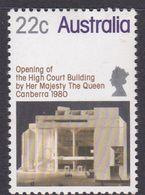 Australia ASC 766 1980 Opening Of The High Court, Mint Never Hinged - 1980-89 Elizabeth II