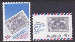 Australia ASC 794-795 1981 50th Anniversary First Flight, Mint Never Hinged - 1980-89 Elizabeth II