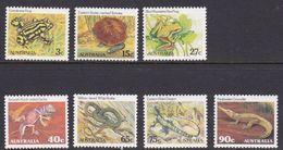 Australia ASC 830-836 1982 Animals Definitives, Mint Never Hinged - 1980-89 Elizabeth II