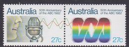 Australia ASC 843a 1982 50th Anniversary Of ABC, Mint Never Hinged - 1980-89 Elizabeth II