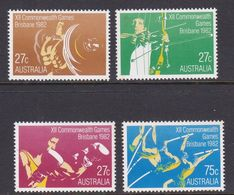 Australia ASC 851-854 1982 12th Commonwealth Games, Mint Never Hinged - 1980-89 Elizabeth II