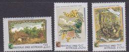 Australia ASC 857-859 1982 Christmas, Mint Never Hinged - 1980-89 Elizabeth II