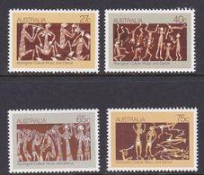 Australia ASC 860-863 1982 Aboriginal Culture, Mint Never Hinged - 1980-89 Elizabeth II