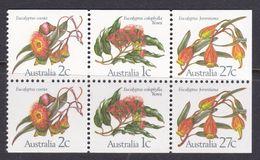 Australia ASC 868b 1982 Eucalypts, Booklet Pane, Mint Never Hinged - 1980-89 Elizabeth II