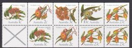 Australia ASC 868c8 1982 Eucalypts,$ 1.00 Booklet Pane, Mint Never Hinged - 1980-89 Elizabeth II