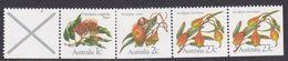 Australia ASC 868s 1982 Eucalypts Strip Of 5, Mint Never Hinged - 1980-89 Elizabeth II