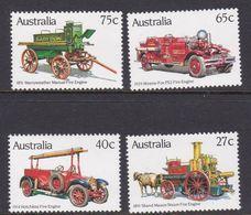 Australia ASC 869-872 1983 Historic Fire Engines, Mint Never Hinged - 1980-89 Elizabeth II