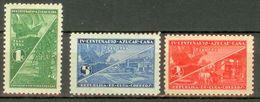 Cuba 1937 Mi#128-130 MNH Cv Eur2.4 Ships - Schiffe