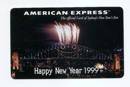 PHONECARD - AUSTRALIA Telecom Asia Pacific New Years 1999 - USED - NO VALUE - Australia