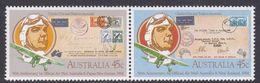 Australia ASC 911-912 1984 First Official Mail,Australia-New Zealand, Mint Never Hinged - 1980-89 Elizabeth II
