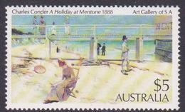 Australia ASC 918 1984 Paintings, $ 5 Mentone, Mint Never Hinged - 1980-89 Elizabeth II