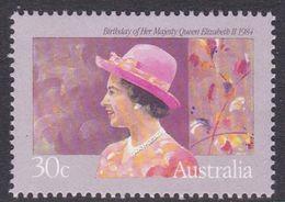 Australia ASC 919 1984 Queen Elizabeth II Birthday, Mint Never Hinged - 1980-89 Elizabeth II