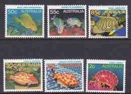 Australia ASC 928-933 1984 Marine Life Definitives, Mint Never Hinged - 1980-89 Elizabeth II