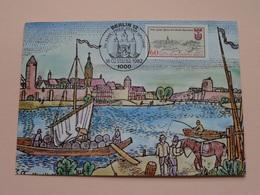 750 Jahr Feier Der Stadt SPANDAU Berlin Erstaus Gabetag 18-02-1982 (Landesbildstelle) Anno BERLIN 1000 ( Zie Foto's ) ! - [5] Berlijn