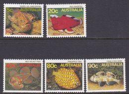 Australia ASC 974-978 1985 Marine Life Definitives, Mint Never Hinged - 1980-89 Elizabeth II