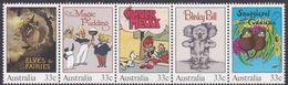 Australia ASC 979-983 1985 Classic Children's Book, Mint Never Hinged - 1980-89 Elizabeth II