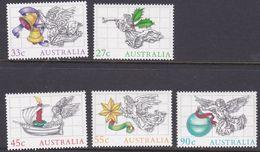 Australia ASC 984-988 1985 Christmas, Mint Never Hinged - 1980-89 Elizabeth II