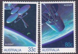 Australia ASC 997-998 1986 Aussat, Mint Never Hinged - 1980-89 Elizabeth II