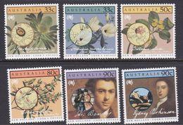 Australia ASC 1001-1006 1986 Australia Bicentennial IV, Cook's Voyages, Mint Never Hinged - 1980-89 Elizabeth II