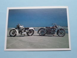 HARLEY-DAVIDSONS Op Daytona Beach, Florida ( Don Marley ) Euredition Den Haag ( Zie Foto's ) ! - Motorbikes