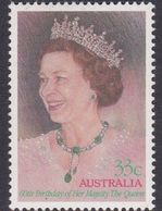 Australia ASC 1008 1986 60th Birthday Queen Elizaberth II, Mint Never Hinged - 1980-89 Elizabeth II