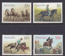 Australia ASC 1009-1012 1986 Horses, Mint Never Hinged - 1980-89 Elizabeth II