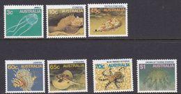 Australia ASC 1013-1019 1986 Marine Life Definitives, Mint Never Hinged - 1980-89 Elizabeth II